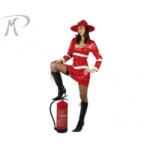 Costumi Carnevale adulto | POMPIERE DONNA Prezzo 23,90 €