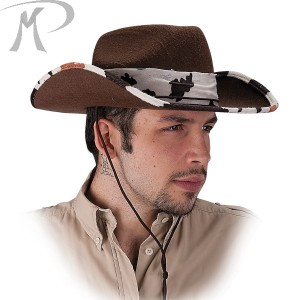 Cappello rodeo in feltro Prezzo 6,20 €