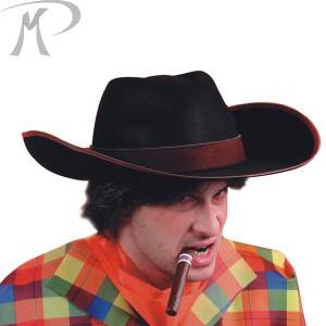 Cappello Cow-boy in bifloccato circonferenza cm. 59
