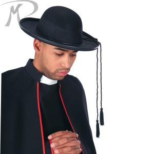 Cappello prete in feltro Prezzo 5,10 €