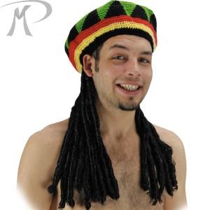 Cappello Rasta con capelli Prezzo 16,20 €