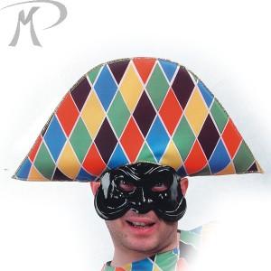 Cappello Arlecchino in tessuto