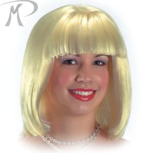 Parrucca Bionda anni '20 in valigetta