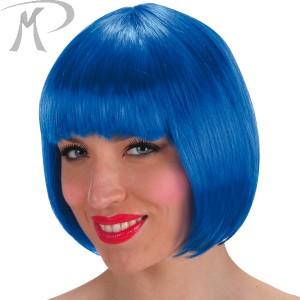 Parrucca Lovely blu in busta