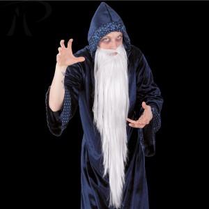 Barba bianca mago lungh.cm.100 Prezzo 9,50 €