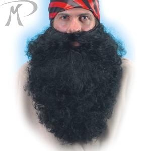 Barba nera lungh.cm.40 in busta