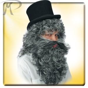Parrucca e barba Mangiafuoco Prezzo 14,90 €