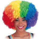 Parrucca Rainbow in valigetta