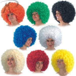 Parrucca Ricciolona colori assortiti (gr.150 ca.) Prezzo 12,40 €