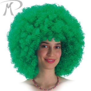 Parrucca Super Ricciolona verde (gr.190 ca.) Prezzo 12,60 €