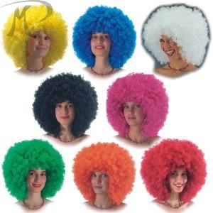 Parrucca Super Ricciolona colori assortiti (gr.190 ca.) Prezzo 12,60 €