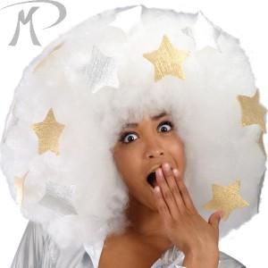 Parrucca Platin Star in valigetta