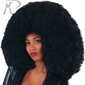 Parrucca Super Africa nera cm. 60 Prezzo 16,30 €