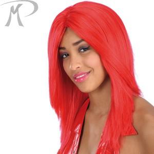 Parrucca liscia rossa in busta