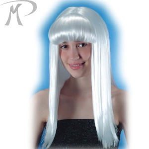 Parrucca Cosmic girl bianca Prezzo 13,80 €