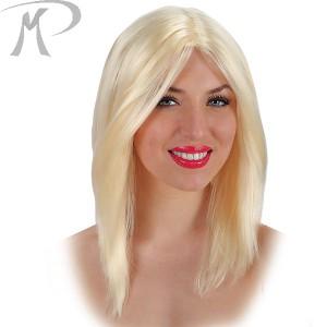 Parrucca liscia bionda Prezzo 9,90 €