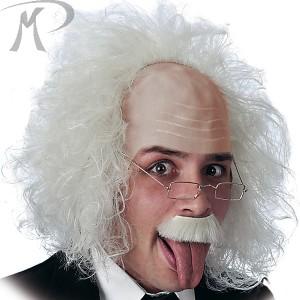 Parrucca Einstein con occhiali e baffi Prezzo 14,40 €