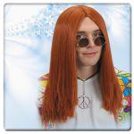 Parrucca John in valigetta (occhiali esclusi)