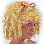 Parrucca Principessa bionda in valigetta