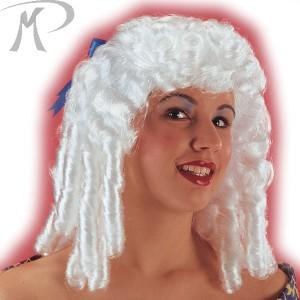 Parrucca Bianca con boccoli Prezzo 23,80 €