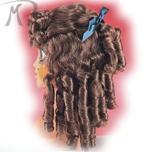 Parrucca Castana con boccoli Prezzo 25,00 €