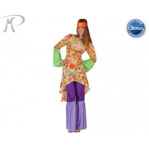 Costumi Carnevale adulto | HIPPIE FIGLIA DEI FIORI  Prezzo  27,50 €