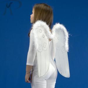 ALI ANGELO IN PIUMA CON BORDO MARABOUT H.CM.48X42 Prezzo 6,00 €
