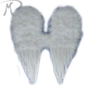 ALI ANGELO IN PIUMA BIANCA H.CM. 61X55 Prezzo 17,80 €