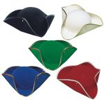 CAPPELLO TRICORNO COLORI ASSORTITI