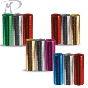 3 STELLE FILANTI METALLIZZATE colori assortiti18 ROTOLINI MM.7 METRI 4 Prezzo 3,60 €