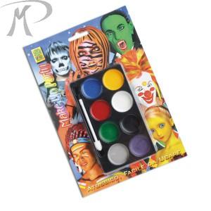 TAVOLOZZA FONDOTINTA IN BLISTER colori assortiti Prezzo 3,00 €
