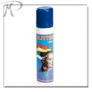 GLITTER SPRAY BLU ML.100 Prezzo 2,70 €