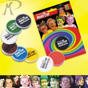 VASETTO FONDOTINTA AD ACQUA GR.15 colori assortitiIN BLISTER Prezzo 6,00 €