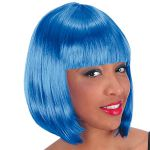 PARRUCCA PIN UP BLU IN BUSTA
