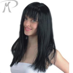 PARRUCCA WINTER GIRL NERA (LUNGA EFFETTO NATURALE) Prezzo 16,60 €