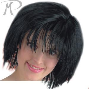 PARRUCCA DINAMIC GIRL NERA (LISCIA CORTA EFFETTO NATURALE) Prezzo 12,40 €
