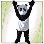 MASCOTTE PANDA IN BUSTA