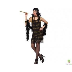Costumi Carnevale adulto | COSTUME CABARET ORO Prezzo 26,20 €