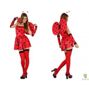 Costumi Carnevale adulto | COSTUME COCCINELLA Prezzo 22,60 €