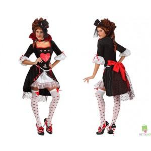Costumi Carnevale adulto | COSTUME DAMA DI CUORI Prezzo 40,70 €
