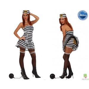 Costumi carnevale Donna | COSTUME CARCERATA SEXY Prezzo 25,50 €