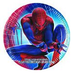 PIATTO DESSERT SPIDERMAN