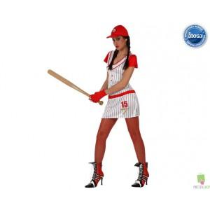 Costumi Carnevale adulto   COSTUME BASE BALL DONNA Prezzo 23,20 €