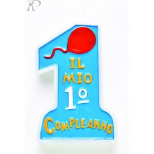 CANDELINA COMPLEANNO CELESTE Prezzo 2,50 €