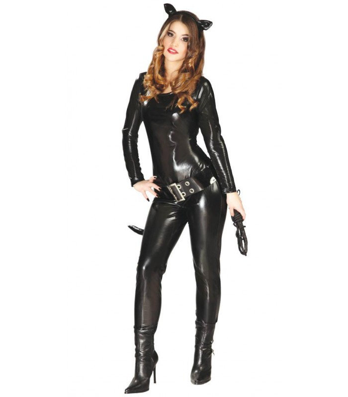 Trucco Halloween Catwoman.Catwoman