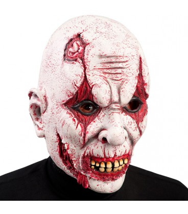 MASCHERA INTERA CLOWN HORROR IN LATTICE Prezzo 22,60 €