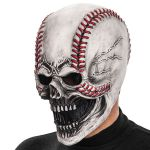 MASCHERA SCHELETRO PALLA DA BASEBALL IN LATTICE