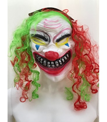 MASCHERA CLOWN HORROR