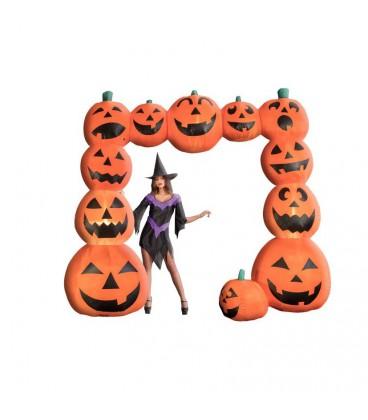 Portale zucche gonfiabili euro for Gonfiabili halloween