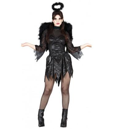 Costumi carnevale Donna | COSTUME ANGELO NERO Prezzo 25,30 €